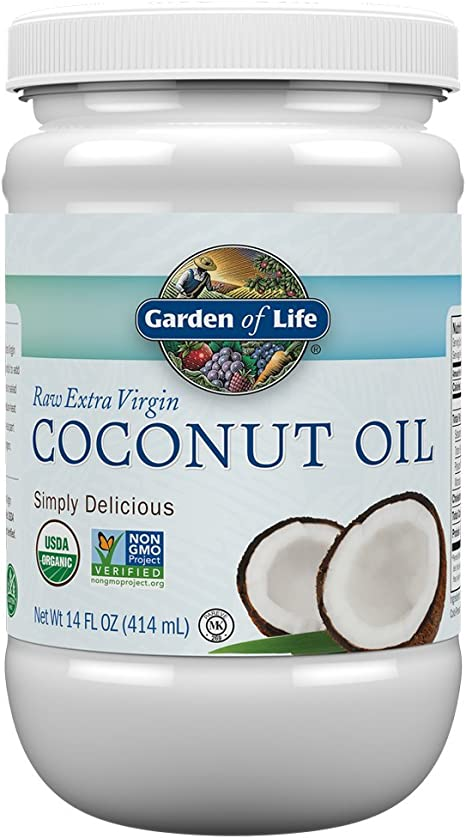 Amazon.com: Garden of Life Organic Extra Virgin Coconut Oil ...