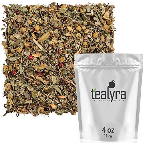 Tealyra – Tranquil Dream – Chamomile Honeybush Lavender – Calming – Relaxing – Herbal Loose Leaf Tea – Caffeine-Free…