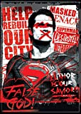 "Ata-Boy Batman v Superman Dawn of Justice Superman False God 2.5"" x 3.5"" Magnet for Refrigerators and Lockers"