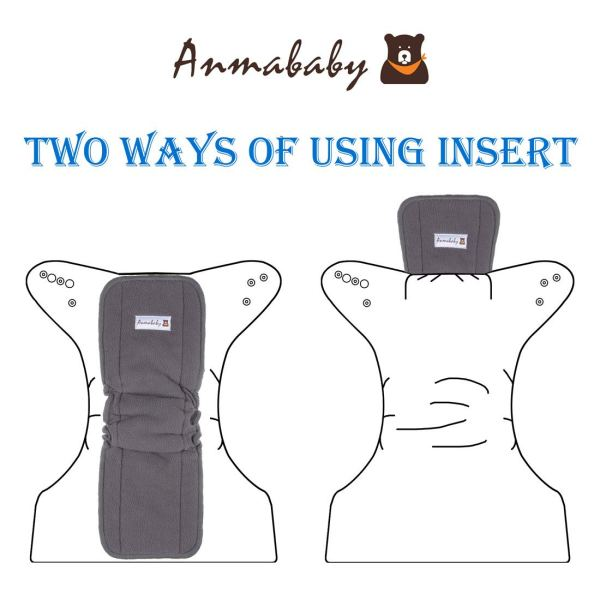 Anmababy cloth diaper Inserts
