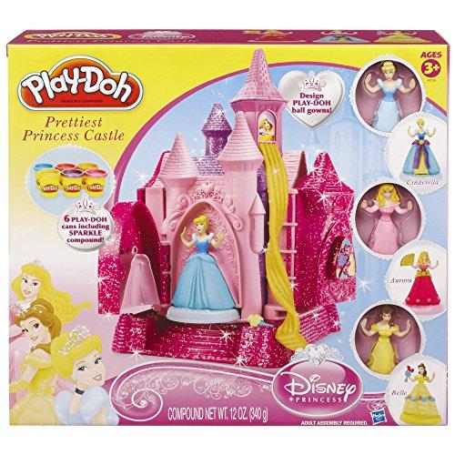 Play-Doh Disney Princess Prettiest Princess Castle Set (Amazon Exclusive)