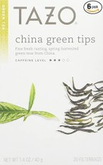 Tazo China Green Tips Green Tea, 20 Count (Pack of 6)