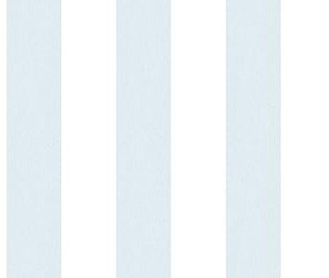 Galerie G Smart Streifen  Tapete Blau Weis