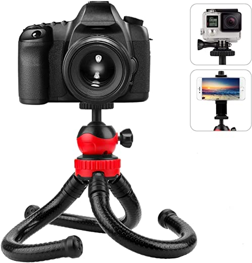 EYNK Gorilla Tripod for Mobile Phone with Holder for Mobile, Flexible Gorilla Stand for Mobile, DSLR & Action Cameras