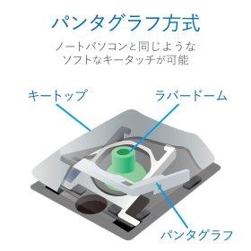 ELECOM FDP098TBK 薄型コンパクト