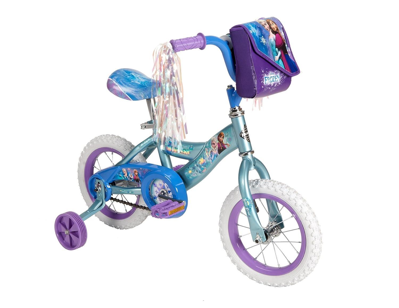 Frozen Huffy Bike