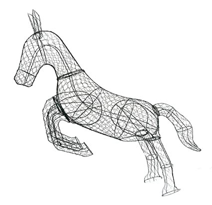 How To Make A Horse Topiary Frame | Frameswalls.org