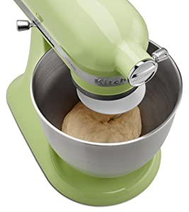 The Artisan Mini can even mix bread dough