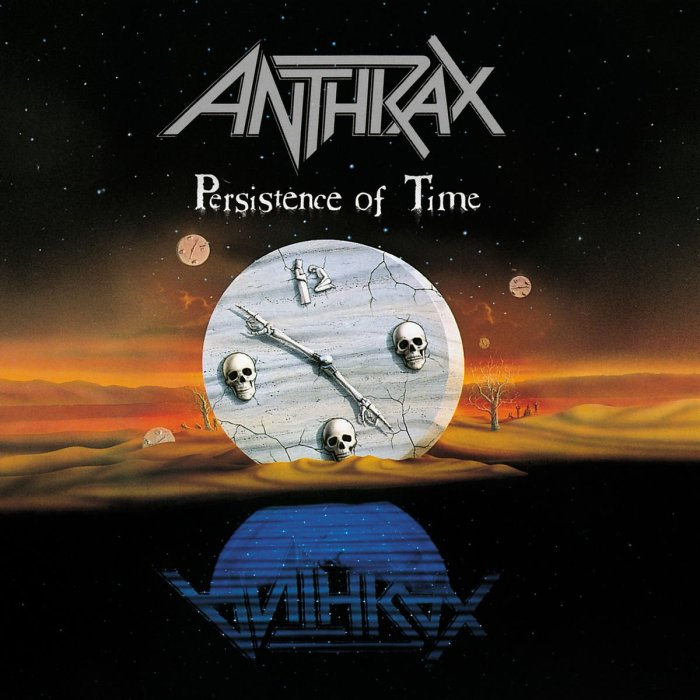 Image result for Anthrax – Persistence of Time