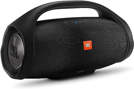 JBL Boombox Enceinte Portable - Son Ultra Puissant - Modes de Son Intérieur & Extérieur - Autonomie 24 hrs - Étanche pour Piscine & Plage, Bluetooth, Noir