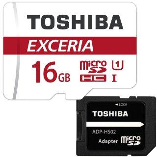 TOSHIBA 東芝 microSDHC 16GB Class10 UHS-I 防水 耐X線 超高速