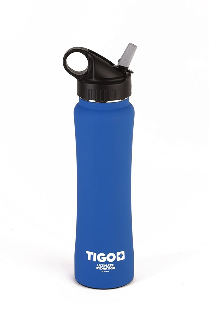 TIGO+ Stainless Steel Double Wall Insulated Water Bottle Review