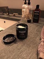 Brickell Men's Renewing Face Scrub for Men, Natural & Organic Exfoliating Facial Scrub - 4 oz Customer Image 3