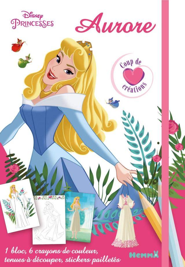 Disney Princesses - Aurore - Coup de coeur créations - Kit mode