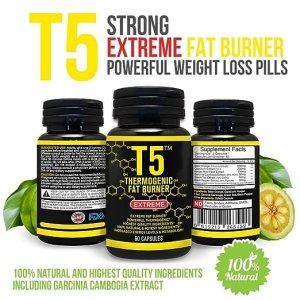 T5 Appetite Suppressant Fat Burner