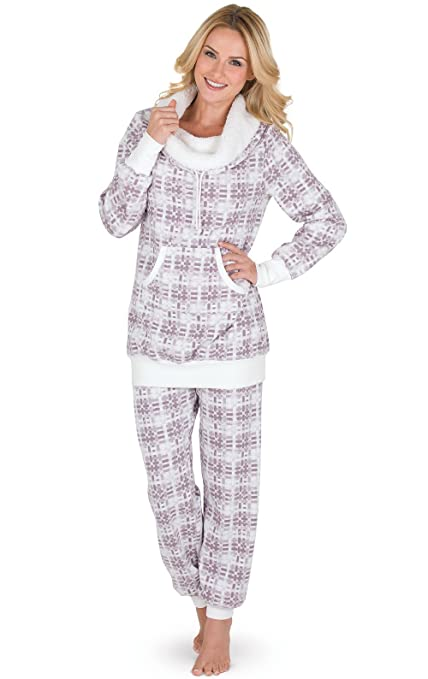 oversized fleece sherpa lined jammies