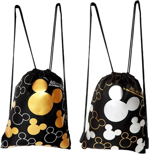 Photo of Mickey Mouse drawstring backpacks from Amazon