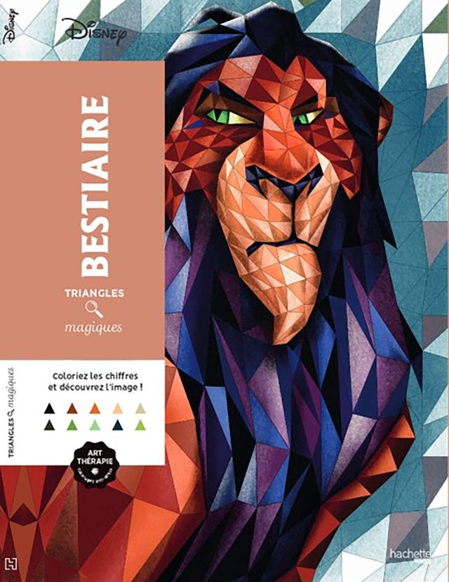 Triangles magiques Disney Bestiaire : Disney, Leblanc, Sophie
