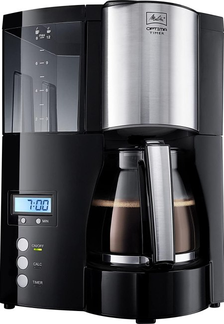 Cafetière filtre programmable - Melitta Optima Timer