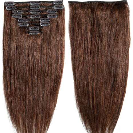 13 inch 80g Clip in Remy Human Hair Extensions