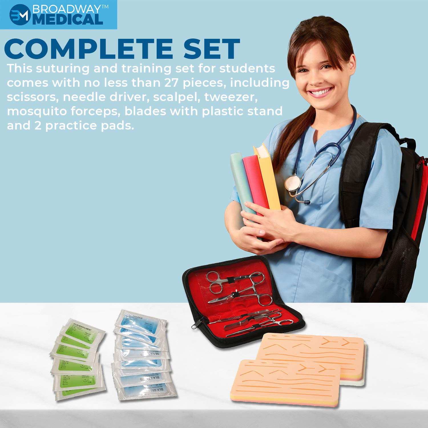 Complete Suture Practice Kit: