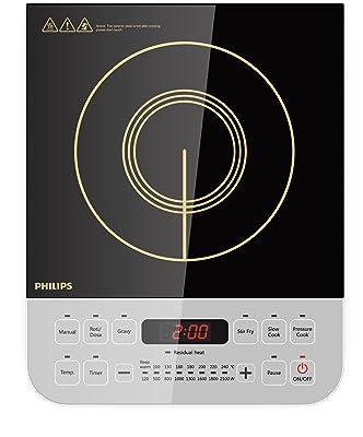 Philips Viva Collection HD4928/01 2100-Watt Induction Cooktop