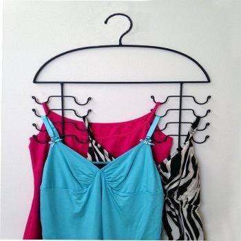 2 Women's Sport Tank Top, Cami, Bra, Strappy Dress, Bathing Suit, Closet Organizer Hangers