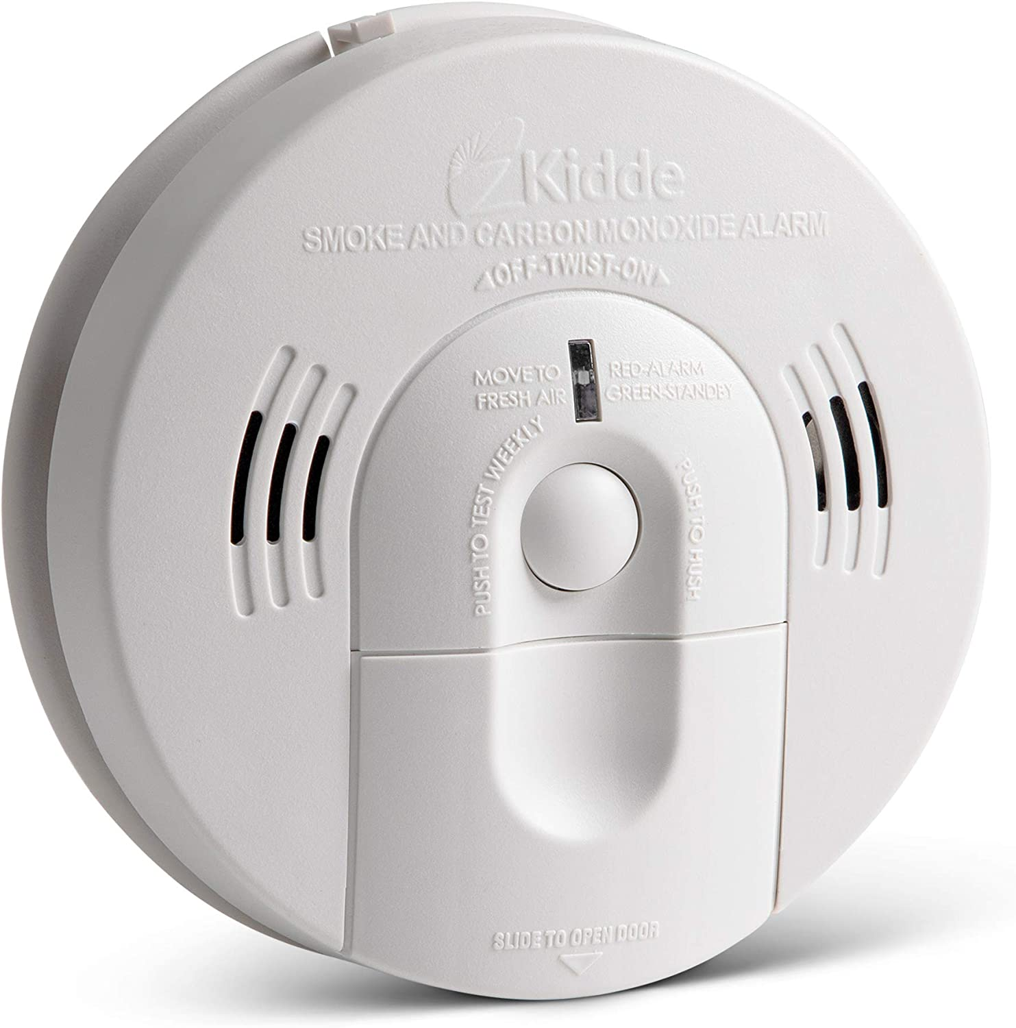 Kidde 21026043 Battery Operated Not Hardwired Combination Smoke Carbon Monoxide Alarm With Voice Warning Kn Cosm Ba Amazon Com