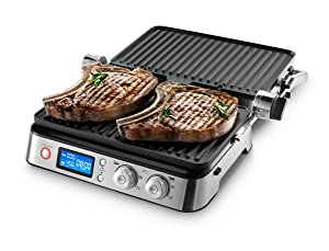 DeLonghi America CGH1030D Livenza All-Day Grill, Griddle and Waffle Maker