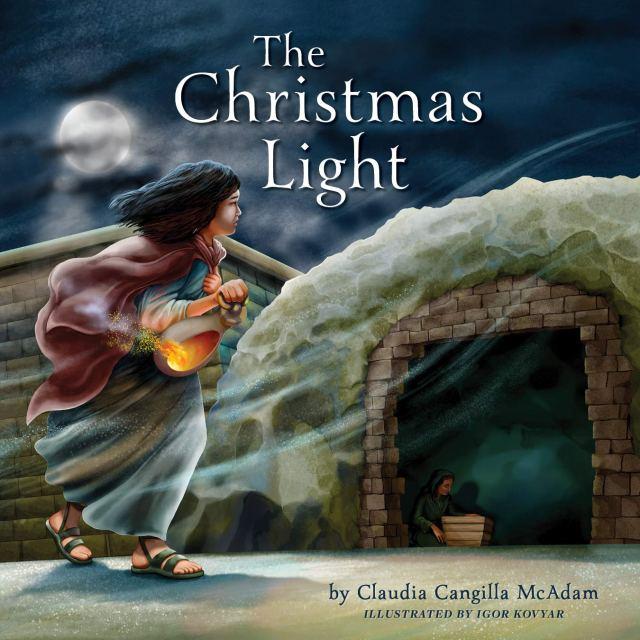 the christmas light book cover
