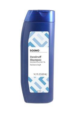 Solimo Advanced Solution Dandruff & Seborrheic Dermatitis Shampoo