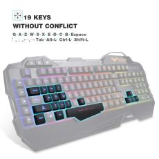 Havit Rainbow Backlit Wired Gaming Keyboard 3