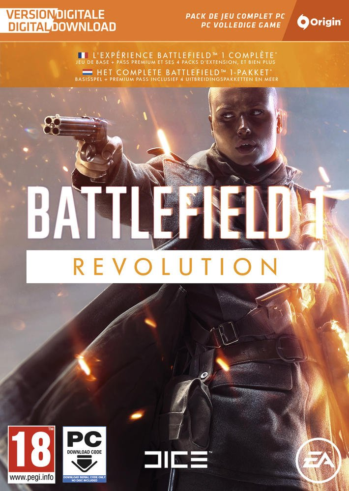 Battlefield 1 - Revolution Code PC Origins