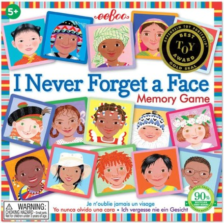 I Never Forget a Face Memory Matching Game for Kids