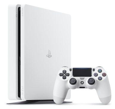 Sony PlayStation 4 Slim 500GB Weiß