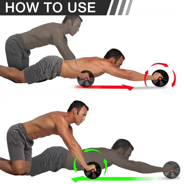 Wheel (USA) Abdominal Exercise