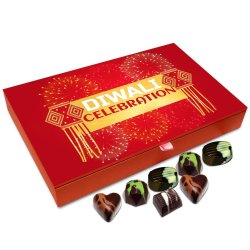 Chocholik Diwali Gift Box – Its Diwali Celebration Time Chocolate Box – 12pc