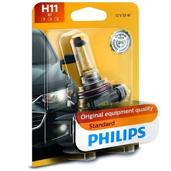 Philips Standard Halogen Replacement Headlight Bulb