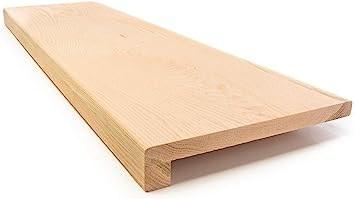Solid Red Oak Stair Tread With 3 4 Square Nose Profile 42 X 11 1   Buy Oak Stair Treads   Flooring   Wood Stair   Hardwood Flooring   Risers   Red Oak