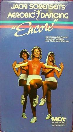 Amazon.com: Jacki Sorensen's Aerobic Dancing Encore [VHS]: Sorensen,Jacki:  Movies & TV