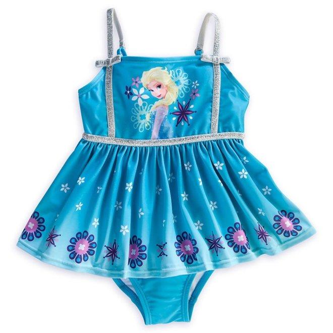 Disney Store Frozen Princess/Queen Elsa Swimsuit