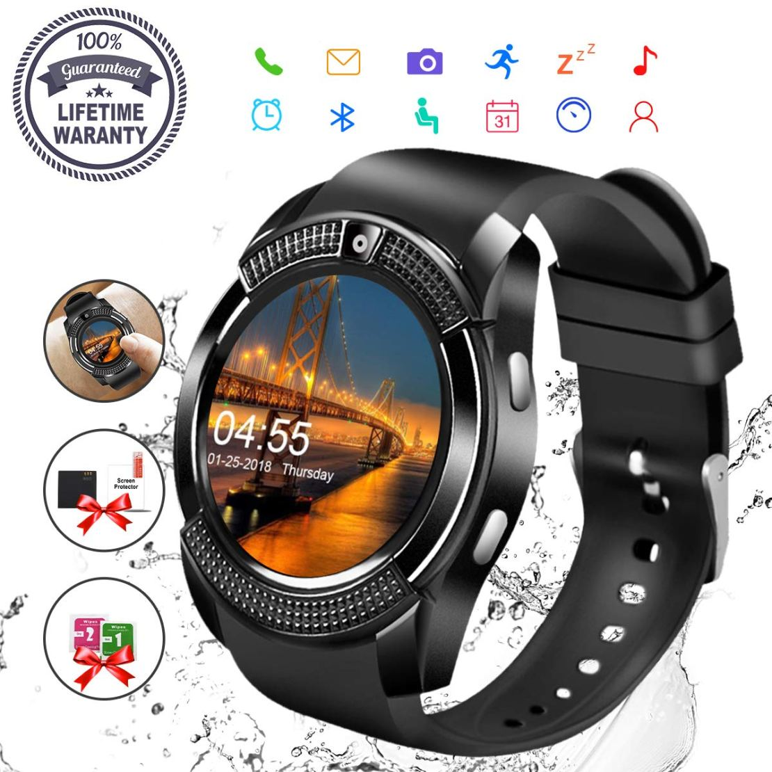718rTHUqP9L. SL1200  - 10 Best Smartwatches 2019