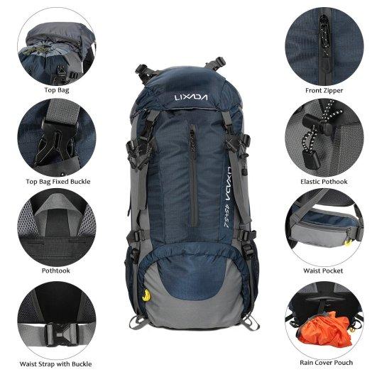 Lixada Waterproof Trekking Rucksack