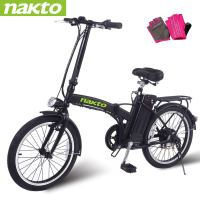"NAKTO Electric Bike City Electric Bikes for Adults 6 Speed Ebike (220W/250W/300W/500W) with 36V10AH/48V12AH Removable Lithium Battery and 1 Year Warranty, (20""/22""/26"") Electric Bicycle-2019 Newest"