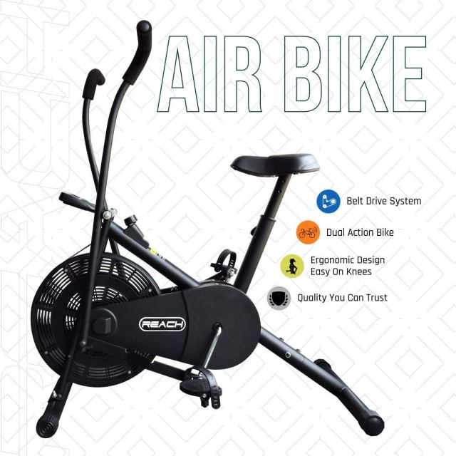 air bike home gym equipment in India