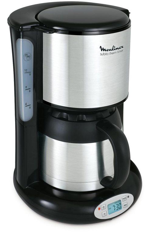 Cafetière filtre programmable isotherme - Moulinex Subito FT 362811