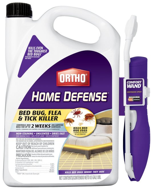Ortho 0202510 Home Defense Max Bed Bug, Flea and Tick Killer review