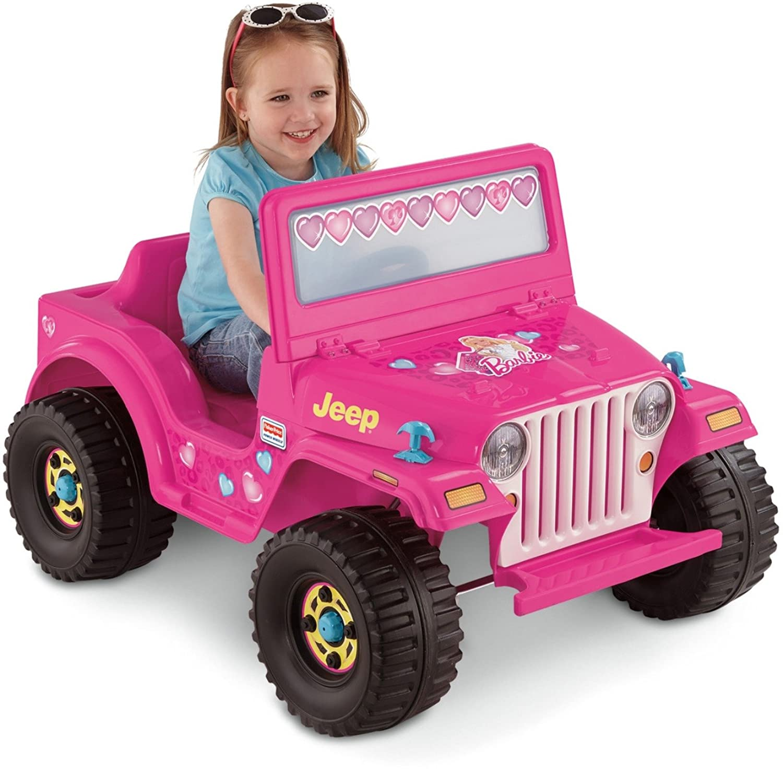 Power Wheels Barbie, Jeep Wrangler