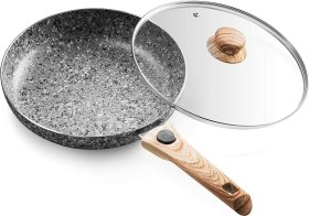 Mitbak 10-Inch Non-Stick Frying Pan with Lid