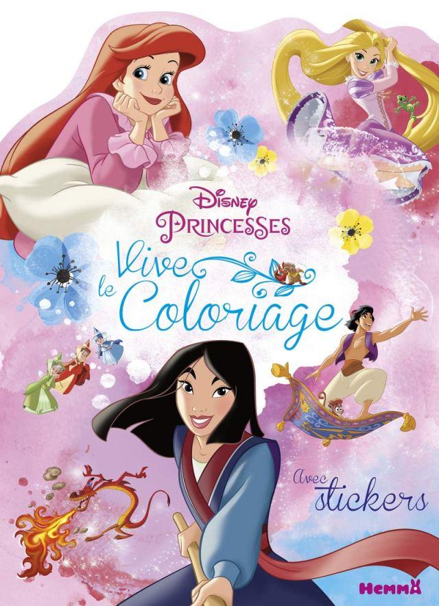 Disney Princesses - Vive le coloriage ! (Mulan, Ariel et Raiponce